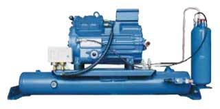 компрессорный агрегат с ресивером